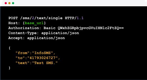 Automatizuotas SMS siuntimas - API